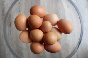 Eggs: organic, pastured, free-range, ethical at van H acres